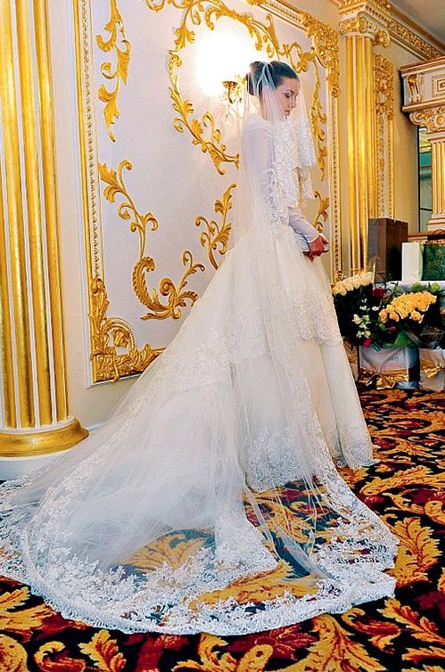 Самые красивые свадебные платья в чечне