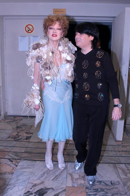 Людмила ГУРЧЕНКО была любимой моделью Валентина ЮДАШКИНА (фото Ларисы КУДРЯВЦЕВОЙ)