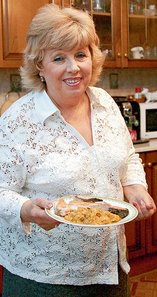 Поэтесса Лариса РУБАЛЬСКАЯ обожает еврейскую кухню