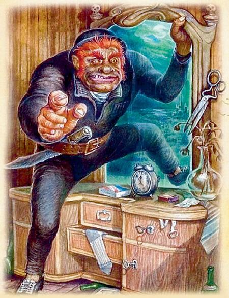 Демон-убийца Азазелло из свиты Воланда