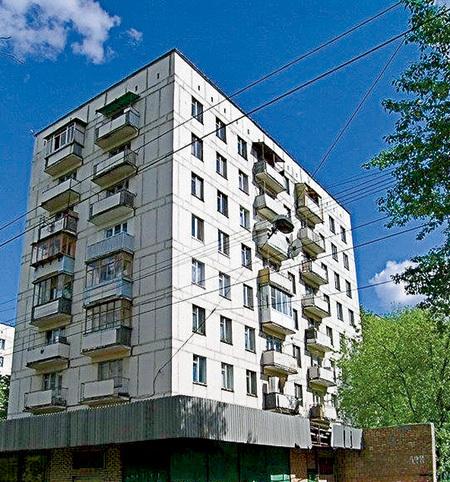 Дом 38 в Протопоповском переулке, где находится злосчастная квартира