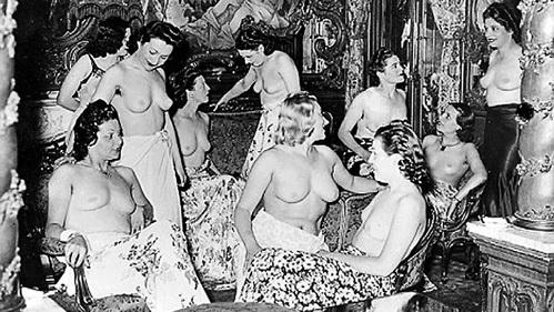 С приходом немцев количество «сотрудниц» борделей увеличилось в шесть раз