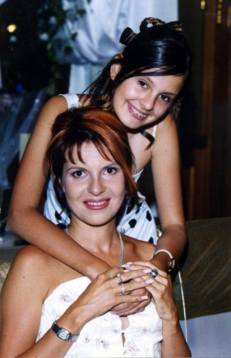 Наталья ШТУРМ с дочкой Леной от первого брака
