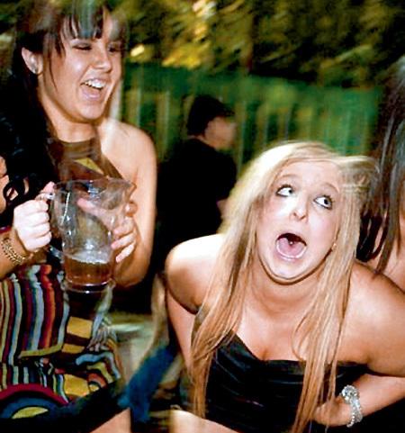 Swedish girl drunk — pic 1