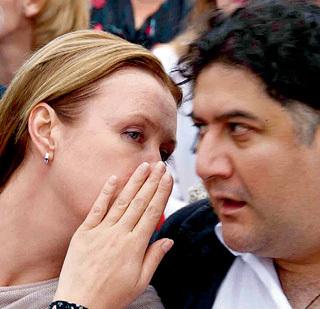 ...не совпала темпераментом (фото Владимира ВЕЛЕНГУРИНА/Комсомольская правда)