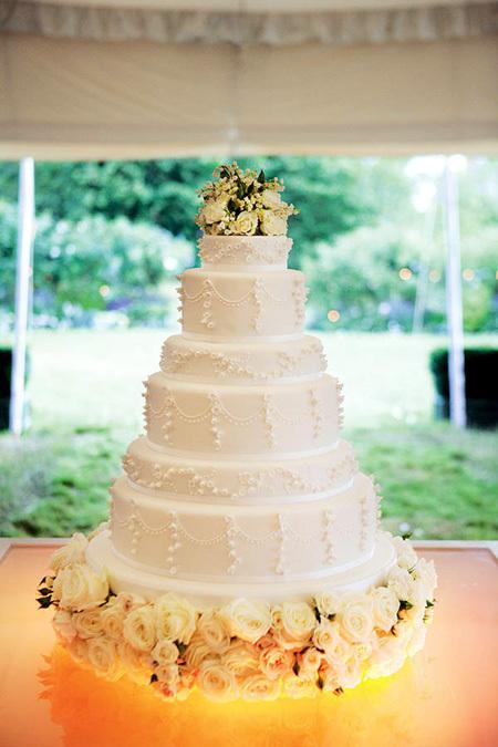Большие фото свадебных тортов