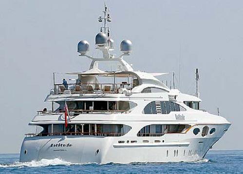 Аренда такой яхты обходится в $320 тысяч в неделю