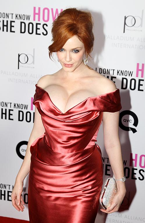 Кристину недаром называют самой сексапильной толстушкой Голливуда: ее формы сводят с ума многих. Фото: Splash/All Over Press