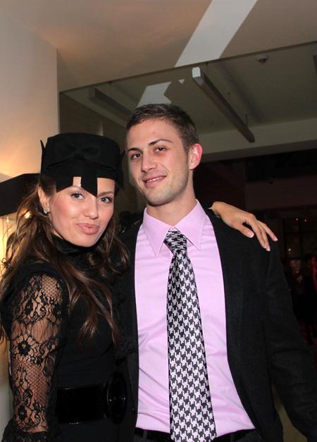 Виктория БОНЯ и Алекс СМАРФИТ станут законным мужем и женой (фото Ларисы КУДРЯВЦЕВОЙ)
