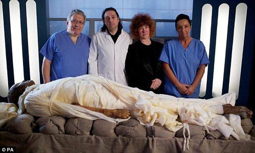 Опыт мумифицирования тела ленина
