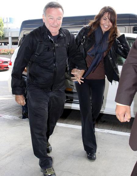Робин УИЛЬЯМС со своей новоиспечённой женой Сьюзан отправился в свадебное путешествие (фото Daily Mail)