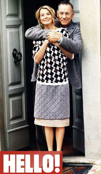 Юлия Высоцкая и Андрей Кончаловский показали свой дом в Италии