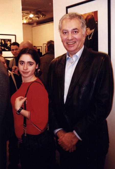 Георгий МОВСЕСЯН с дочерью