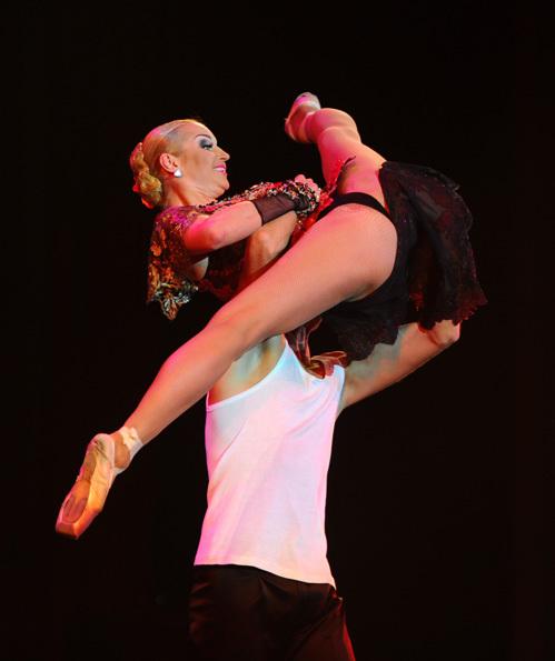 Киска у балерины видео
