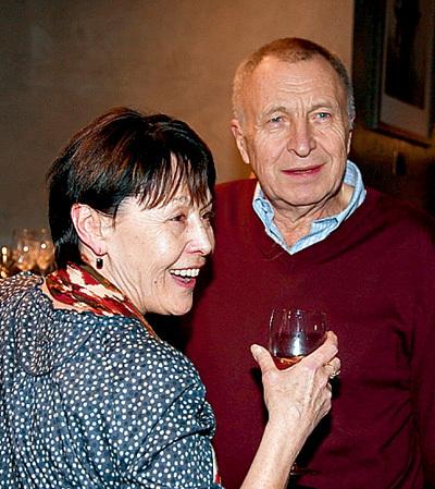 СМИРНОВ с нынешней женой Еленой ПРУДНИКОВОЙ