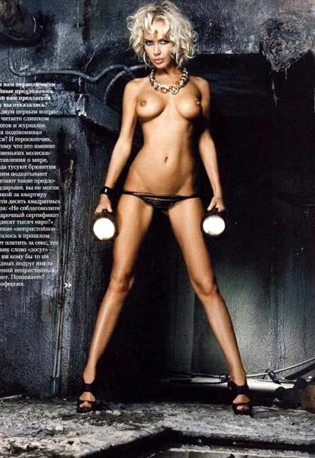 Маша МАЛИНОВСКАЯ - фото Playboy