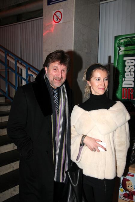 Леонид ЯРМОЛЬНИК с дочерью Александрой