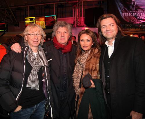 Аркадий УКУПНИК, Владимир МАТЕЦКИЙ, Дмитрий МАЛИКОВ с женой