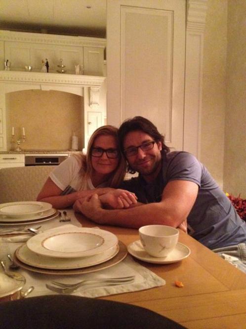 Андрей МАЛАХОВ с супругой Натальей ШКУЛЕВОЙ