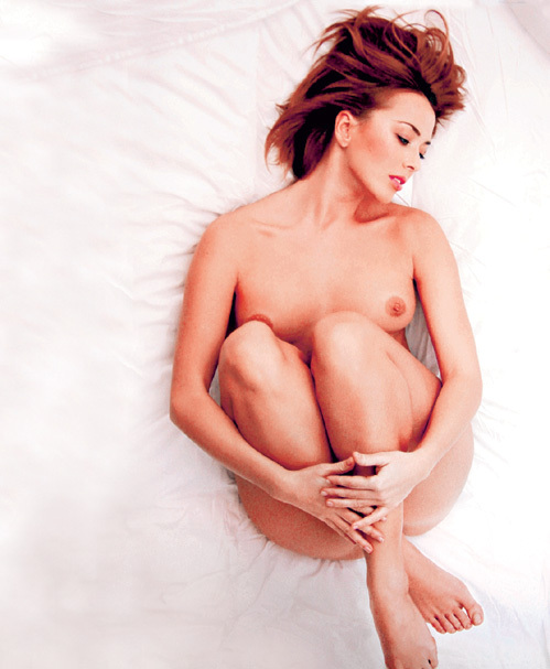 На этом фото 37-летняя Жанна ФРИСКЕ - на редкость романтична и беззащитна