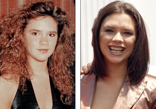 Так Виктория выглядела в 1990-м и в 1997-м годах