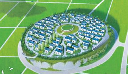 Примерно так будет выглядеть «небесная деревня»