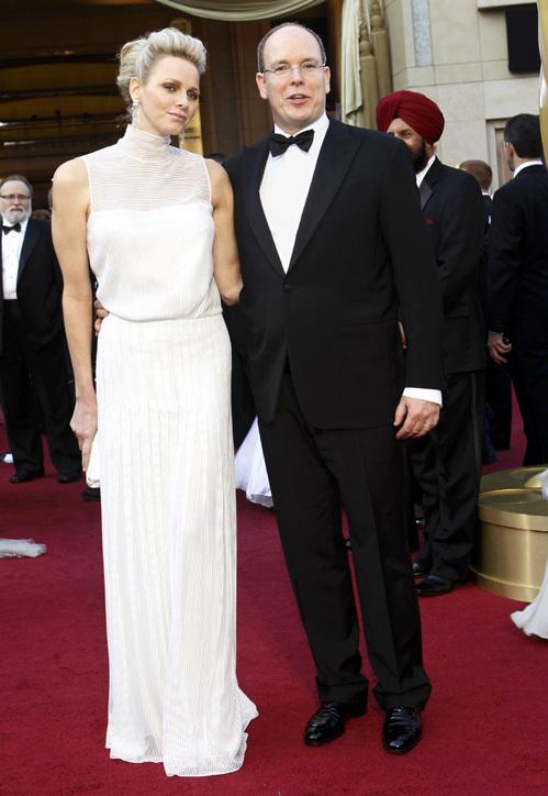 Принц АЛЬБЕР и принцесса ШАРЛИН