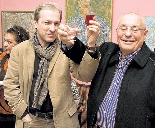 С тестем Марком РОЗОВСКИМ не грех выпить на брудершафт