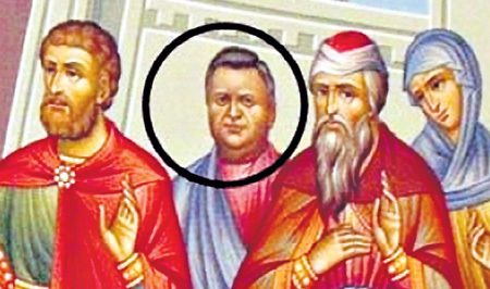 Чиновник КУЛАГИН посчитал свой портрет в церкви неуместным