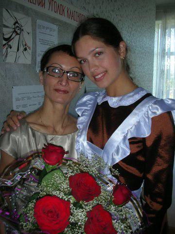 Елизавета ГОЛОВАНОВА закончила школу с золотой медалью.