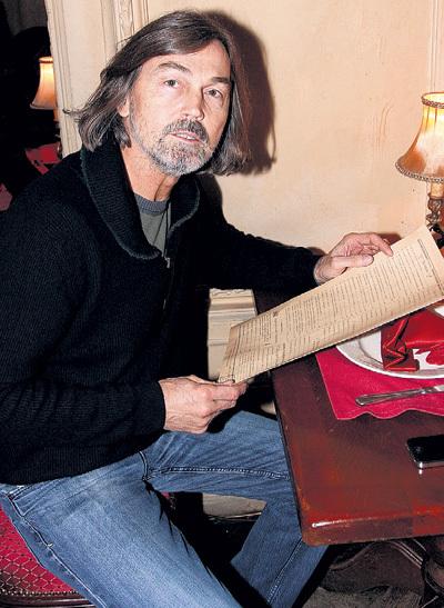 Никас САФРОНОВ был в ресторане в тот вечер, но подойти и поздравить юбиляршу так и не решился
