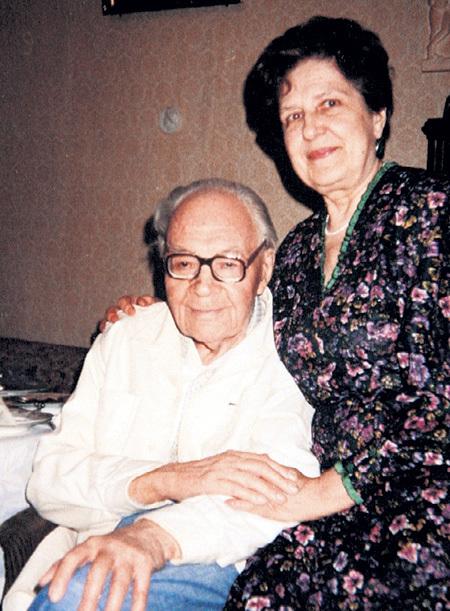 В 1991 году родители телеведущего - Зоя Константиновна и Игорь Фёдорович - отметили золотой юбилей