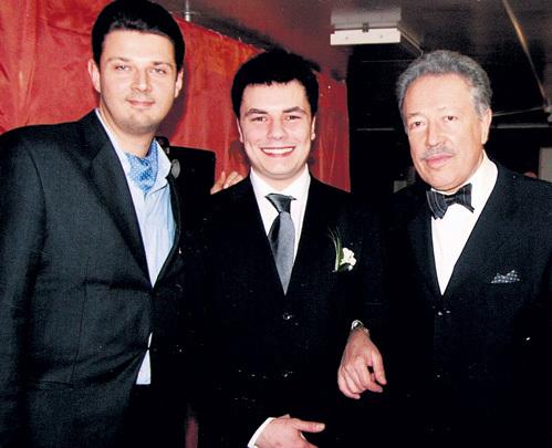 С сыновьями Игорем и Фёдором
