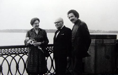 Святослав с родителями
