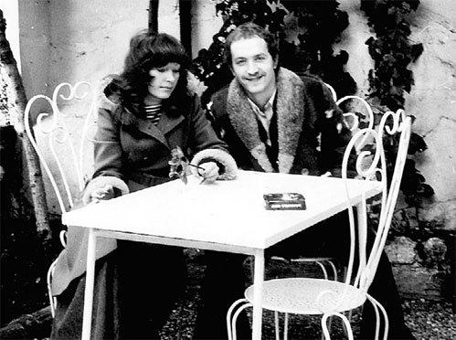 Алла и Лёня наутро после ночи любви сфотографировались на память (Франция, 1975 г.)