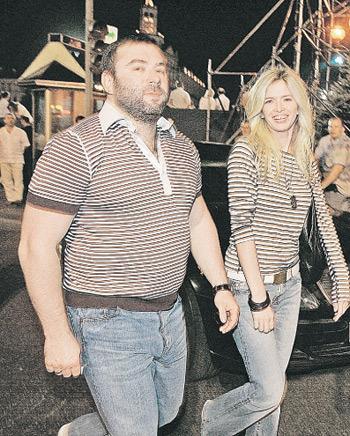 Вера с супругом, киевским бизнесменом Михаилом КИПЕРМАНОМ. Фото: Максим ЛЮКОВ («КП» - Киев»).