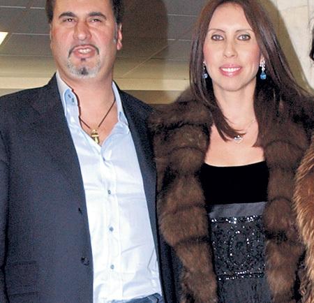 Валерием МЕЛАДЗЕ с женой Ириной
