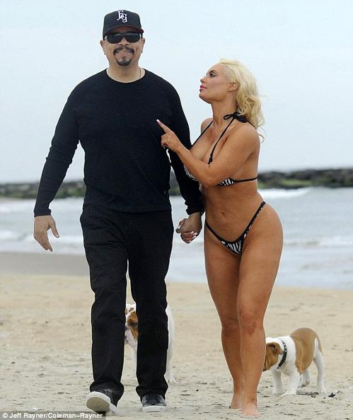 Коко Николь ОСТИН с мужем - рэпером Ice T