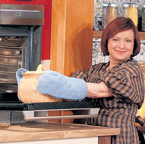 ЧЕКАЛОВА учит готовить только полезные блюда