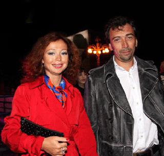 Елена ЗАХАРОВА с бывшим мужем Сергеем МАМОТОВЫМ