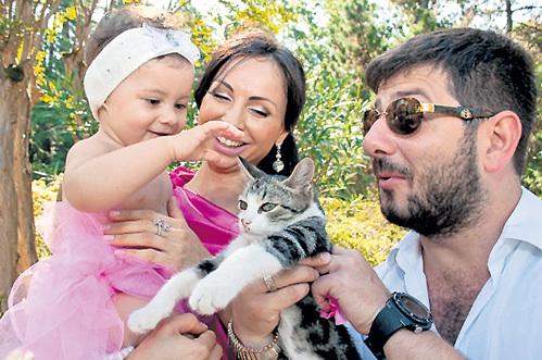 галустян михаил и его жена и дети фото