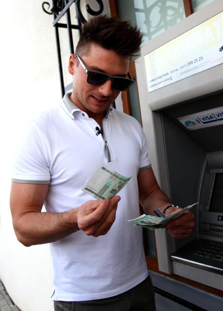 Сергей ЛАЗАРЕВ потратил внушительную сумму белорусских рублей...
