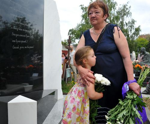 дочь актрисы Людмилы Гурченко Мария Королева с внучкой.