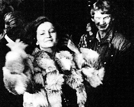 София Михайловна в шубе, которую ей подарил Тайванчик