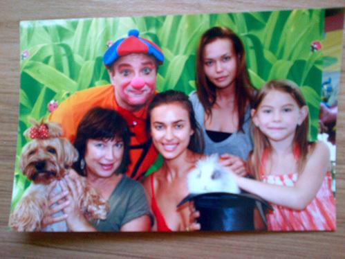 Ирина ШЕЙК с семьёй