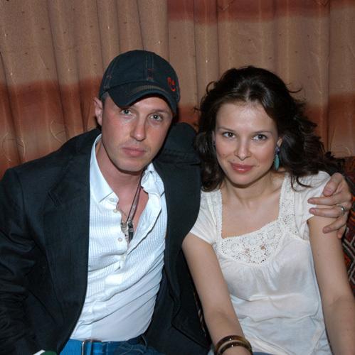 Игорь ВЕРНИК с бывшей женой Марией (фото Ларисы КУДРЯВЦЕВОЙ)