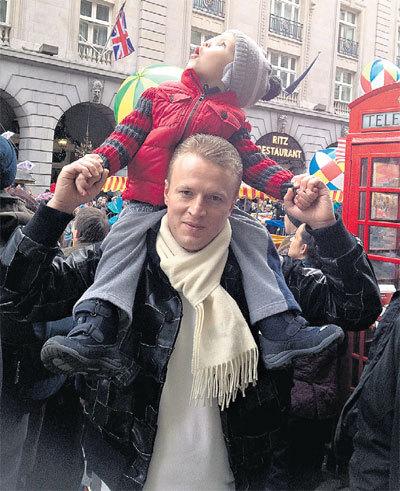 Андрей СЕРЕДА старался быть примерным отцом для детей