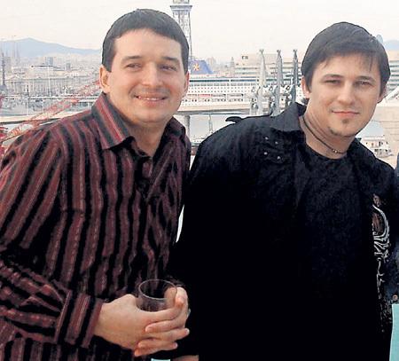 Юрий МАГОМАЕВ (слева) отказался выступать на разогреве у Стаса МИХАЙЛОВА, зато его близкий друг Максим ОЛЕЙНИКОВ (справа) быстро согласился