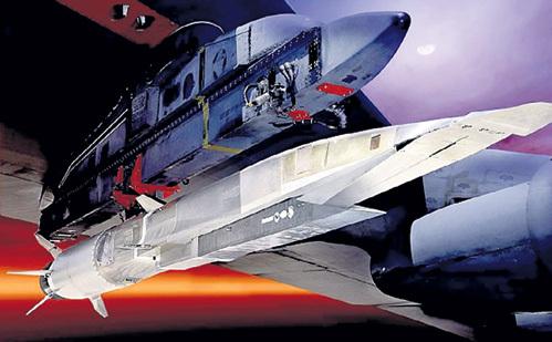 До высоты 15 км новинку поднимет под своим крылом бомбардировщик B-52, а дальше она полетит сама