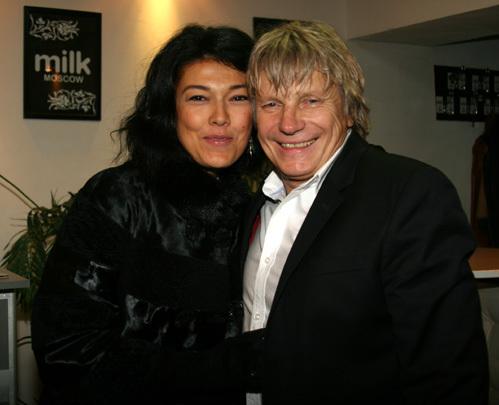 Виктор САЛТЫКОВ с женой